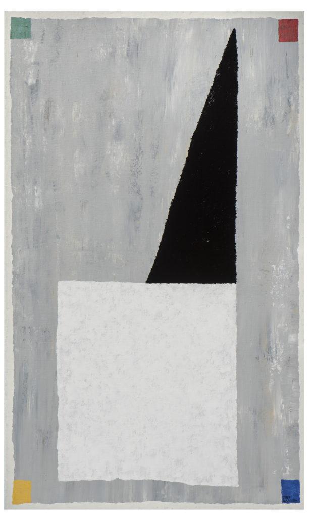 Abstracte Kapel, 2017, 150 x 90 cm