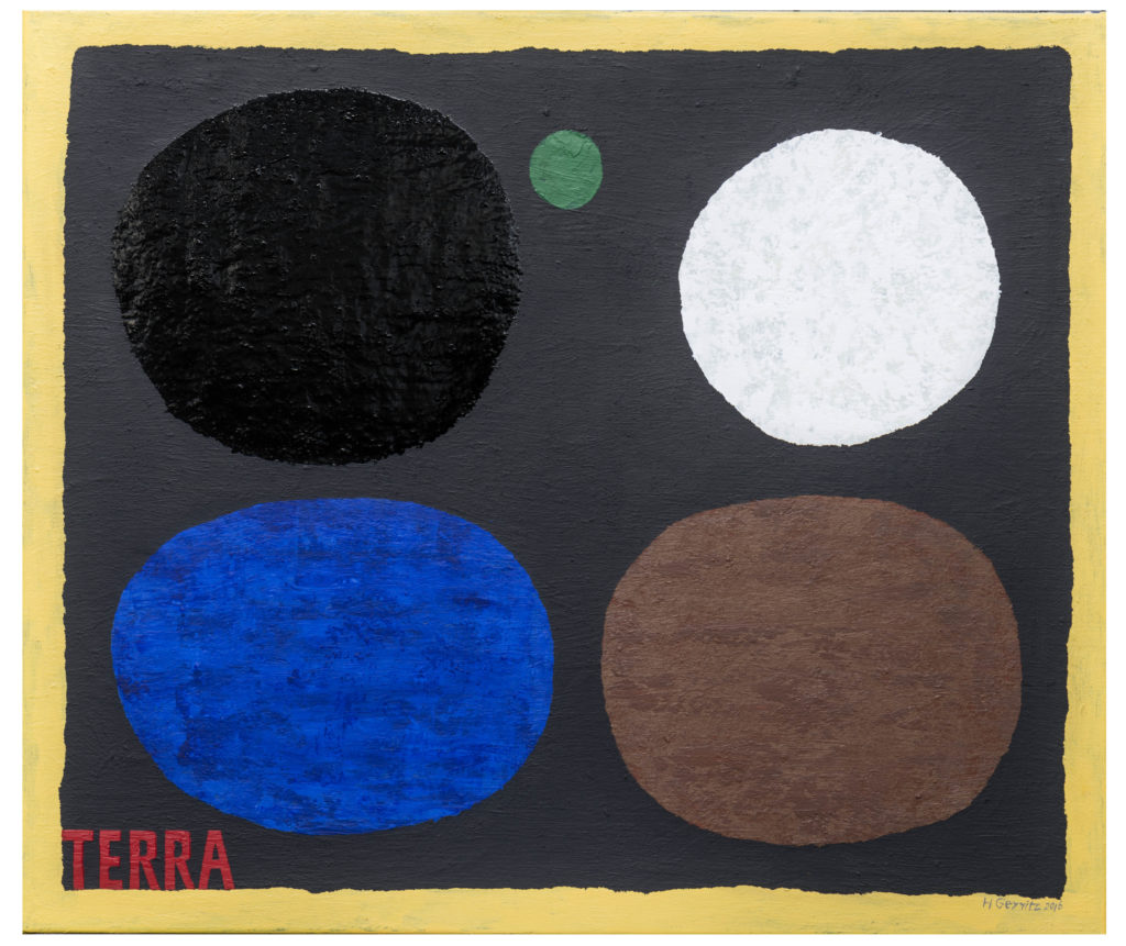 Deep Space, 2016, 85 x 100 cm